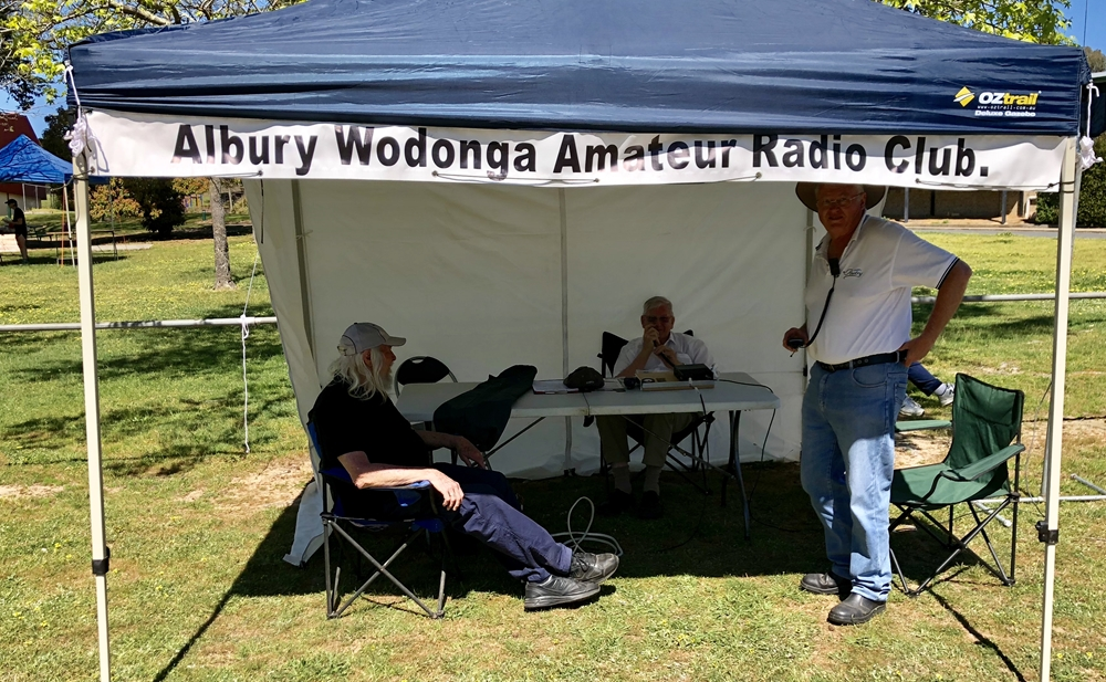 Albury Wodonga Amateur Radio club Upper Murray Challenge 2018